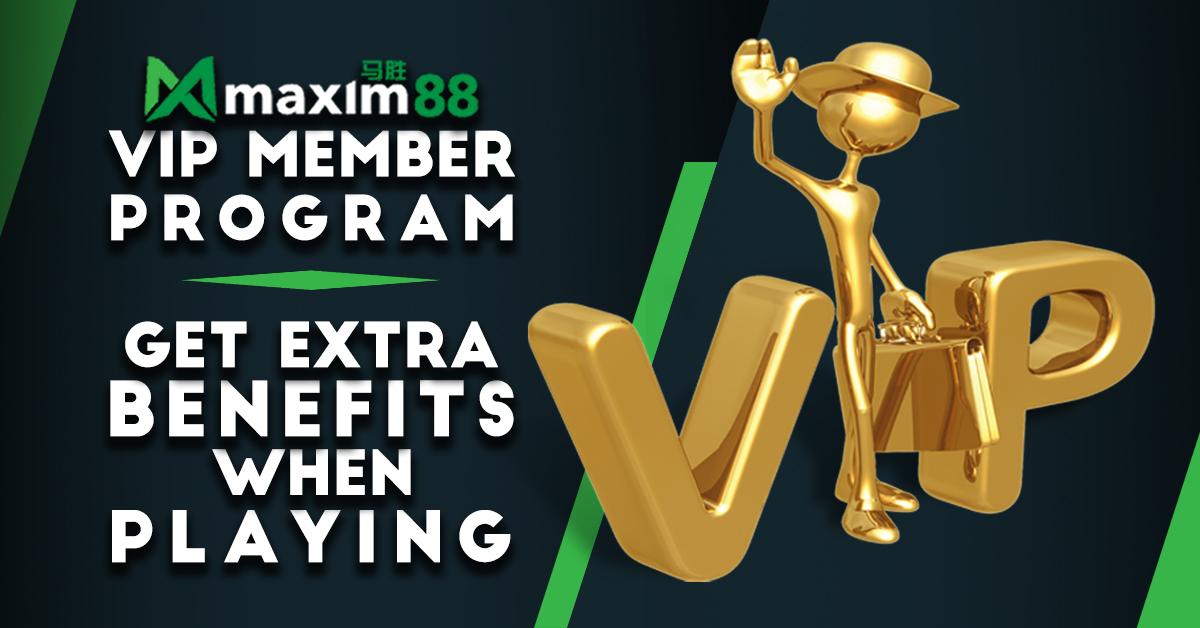 Maxim88 VIP Program